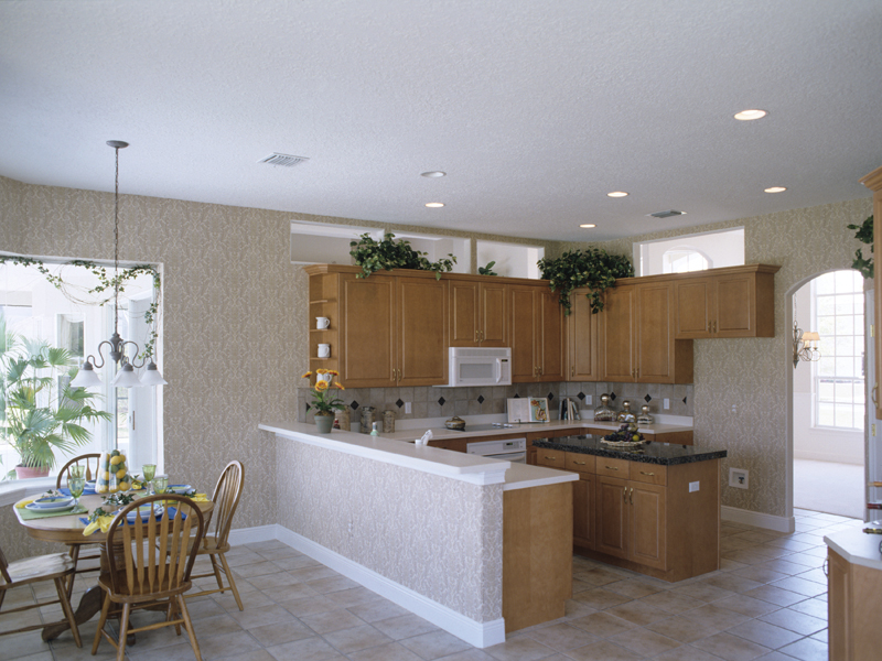 Sunbelt Home Plan Kitchen Photo 01 - 047D-0146 | House Plans and More