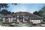 Stunning Stucco Home With Arched Windows And Entry