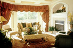 Luxury House Plan Living Room Photo 01 - 047D-0168 | House Plans and More