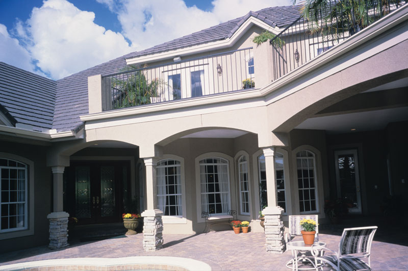 Florida House Plan Patio Photo 047D-0168
