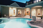 Sunbelt Home Plan Pool Photo - 047D-0168 | House Plans and More