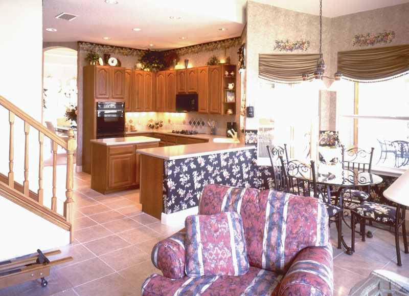 Santa Fe House Plan Kitchen Photo 01 - 047D-0169 | House Plans and More