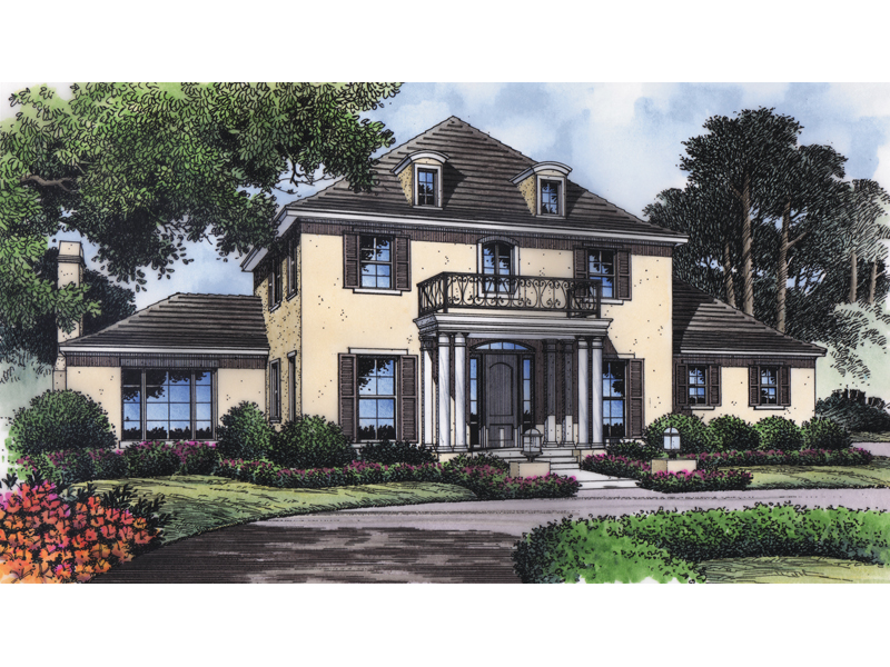 Plantation Style Colonial Two-Story Home With Antebellum Intrigue