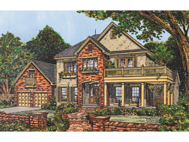 Luxury Georgian Style Two-Story With Second Floor Deck