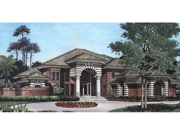 Volusia sunbelt home plan 047d 0182 house plans and more for Sunbelt homes