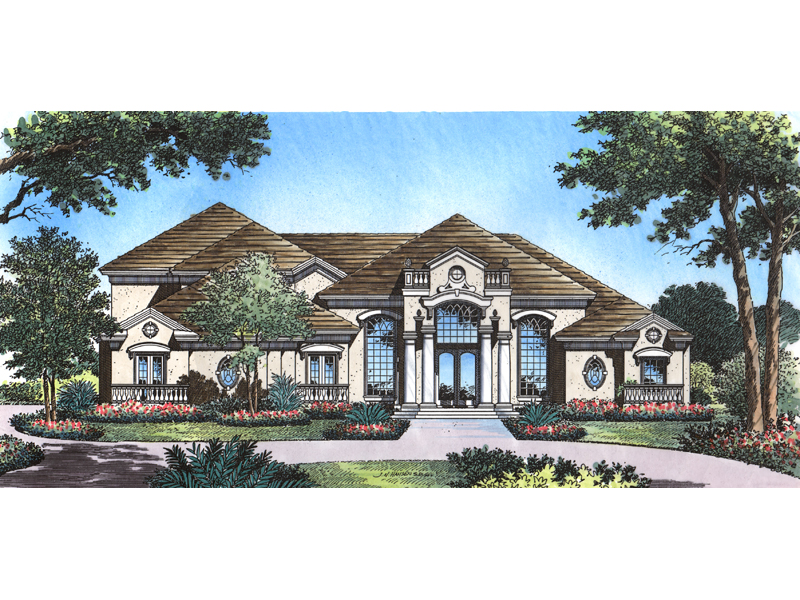 Atlantic Park Luxury Style Home Plan 047d 0184 House