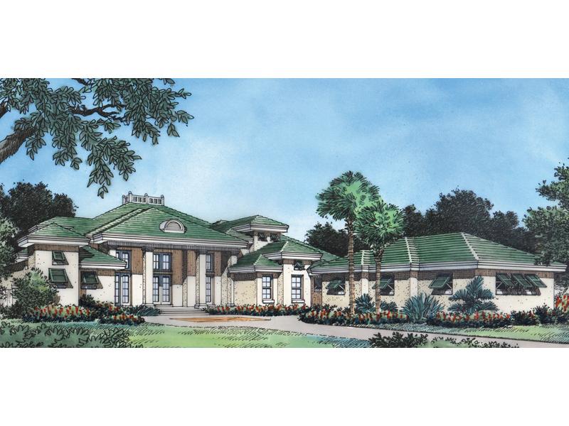 Expansive Luxury Sunbelt Style Mansion