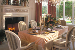 Victorian House Plan Dining Room Photo 01 - 047D-0187 | House Plans and More