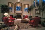 Sunbelt Home Plan Family Room Photo 01 - 047D-0187 | House Plans and More