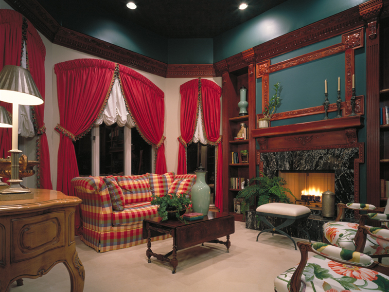 Sunbelt Home Plan Fireplace Photo 01 047D-0187