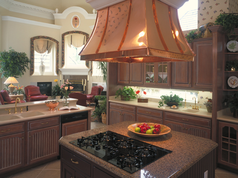 Mediterranean House Plan Kitchen Photo 01 - 047D-0187 | House Plans and More
