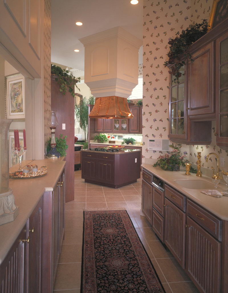 Luxury House Plan Kitchen Photo 02 047D-0187