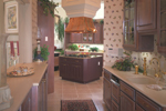 Sunbelt Home Plan Kitchen Photo 02 - 047D-0187 | House Plans and More