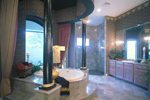 Mediterranean House Plan Master Bathroom Photo 01 - 047D-0187 | House Plans and More