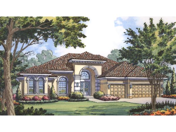 Palmdale luxury sunbelt home plan 047d 0194 house plans for Sunbelt homes