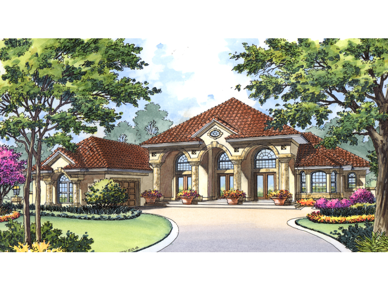 25 pictures spanish style ranch house plans building