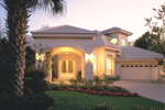 Florida House Plan Front Photo 01 - 047D-0204 | House Plans and More