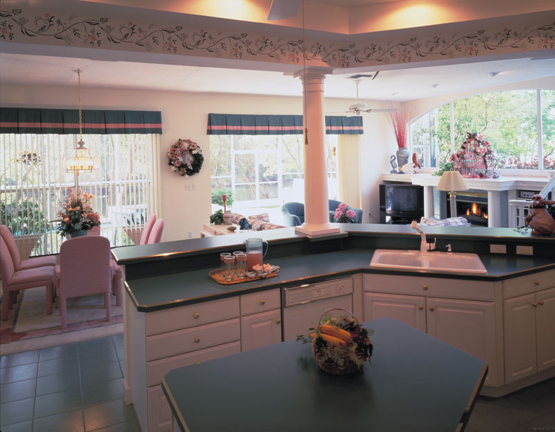 Sunbelt Home Plan Kitchen Photo 01 047D-0204