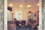 Santa Fe House Plan Living Room Photo 01 - 047D-0204 | House Plans and More