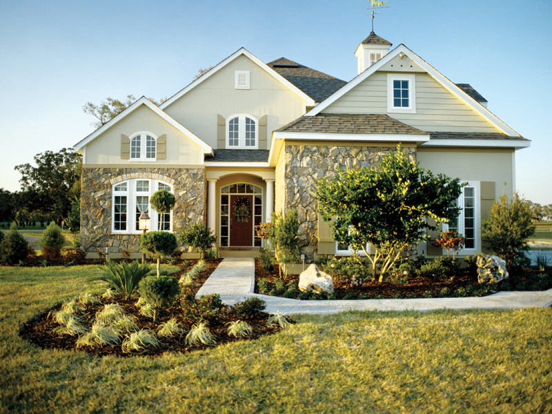 Country French Home Plan Front Photo 01 047D-0208
