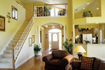 Traditional House Plan Great Room Photo 02 - 047D-0208 | House Plans and More