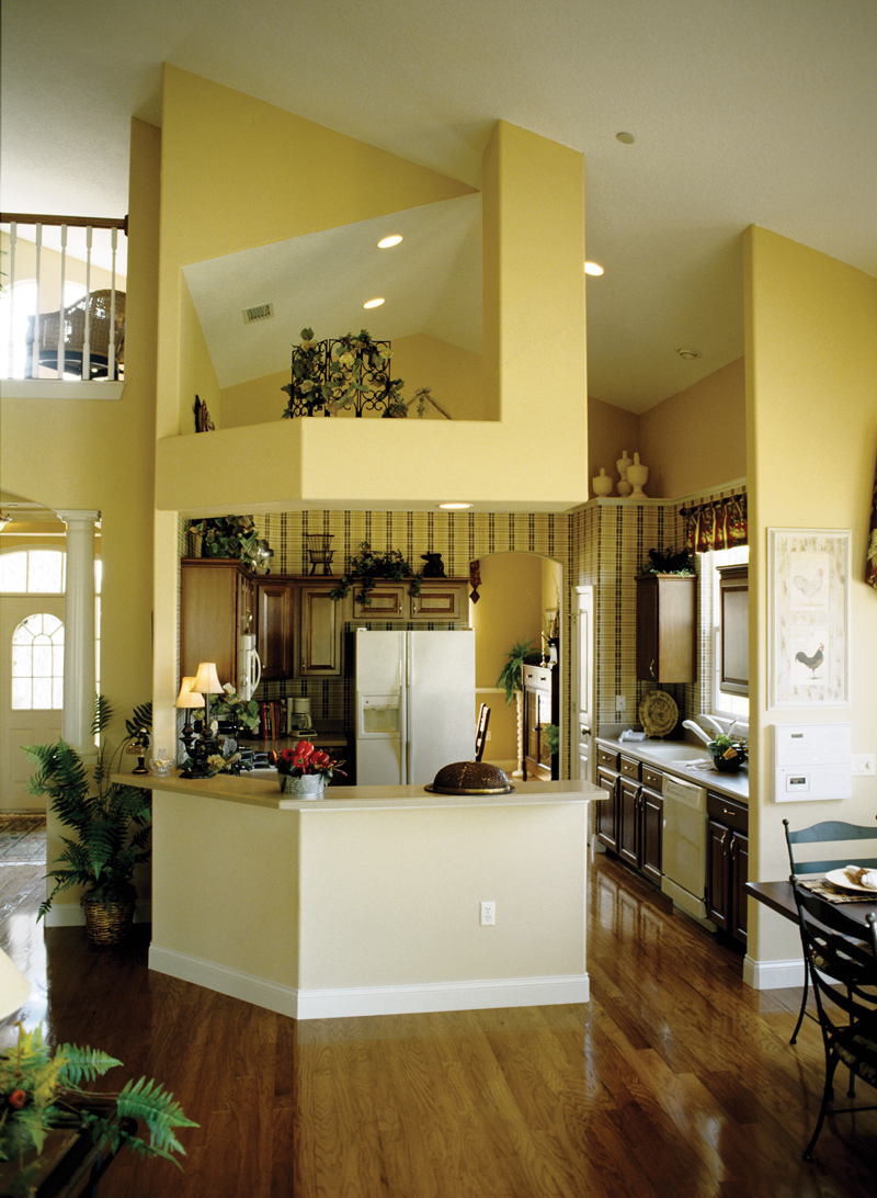 Country French Home Plan Kitchen Photo 01 - 047D-0208 | House Plans and More