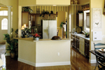 Country French House Plan Kitchen Photo 01 - 047D-0208 | House Plans and More
