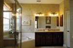 Country French Home Plan Master Bathroom Photo 01 - 047D-0208 | House Plans and More