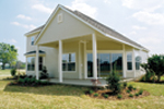 Country French House Plan Rear Photo 01 - 047D-0208 | House Plans and More