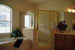 Ranch House Plan Master Bathroom Photo 01 - 047D-0209 | House Plans and More