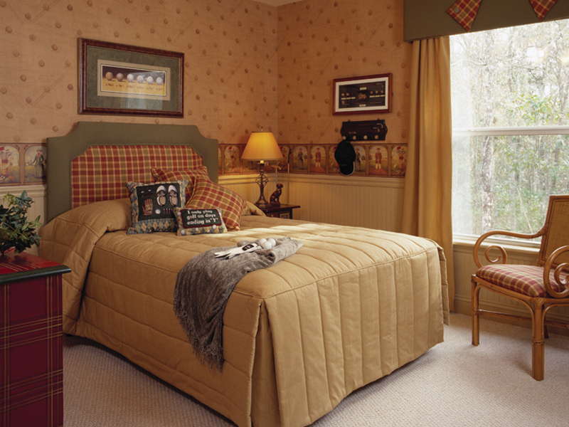 Sunbelt Home Plan Bedroom Photo 01 047D-0211