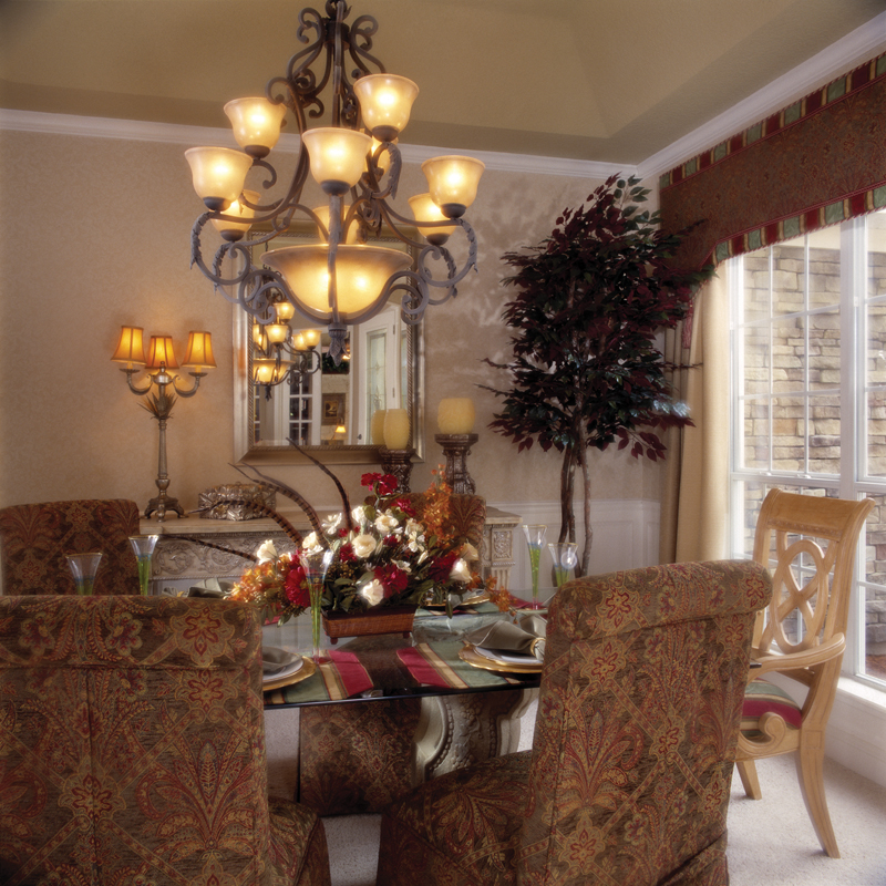 Sunbelt Home Plan Dining Room Photo 01 047D-0211
