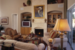 Sunbelt Home Plan Great Room Photo 01 - 047D-0211 | House Plans and More