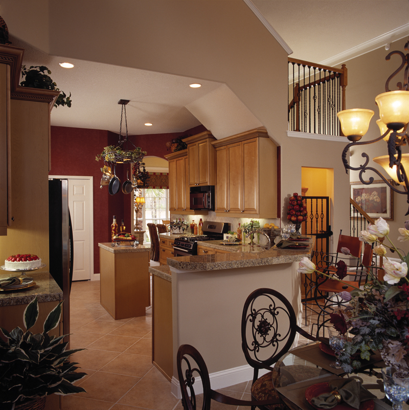 Sunbelt Home Plan Kitchen Photo 01 047D-0211