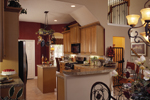 Luxury House Plan Kitchen Photo 01 - 047D-0211 | House Plans and More