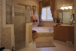 Luxury House Plan Master Bathroom Photo 01 - 047D-0211 | House Plans and More