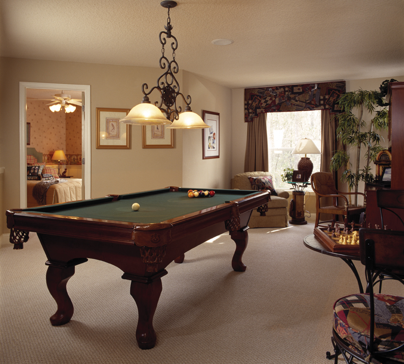Sunbelt Home Plan Recreation Room Photo 01 047D-0211