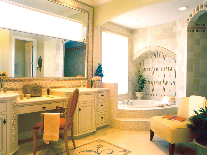 Traditional House Plan Master Bathroom Photo 01 047D-0213