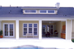 Traditional House Plan Rear Photo 01 - 047D-0213 | House Plans and More