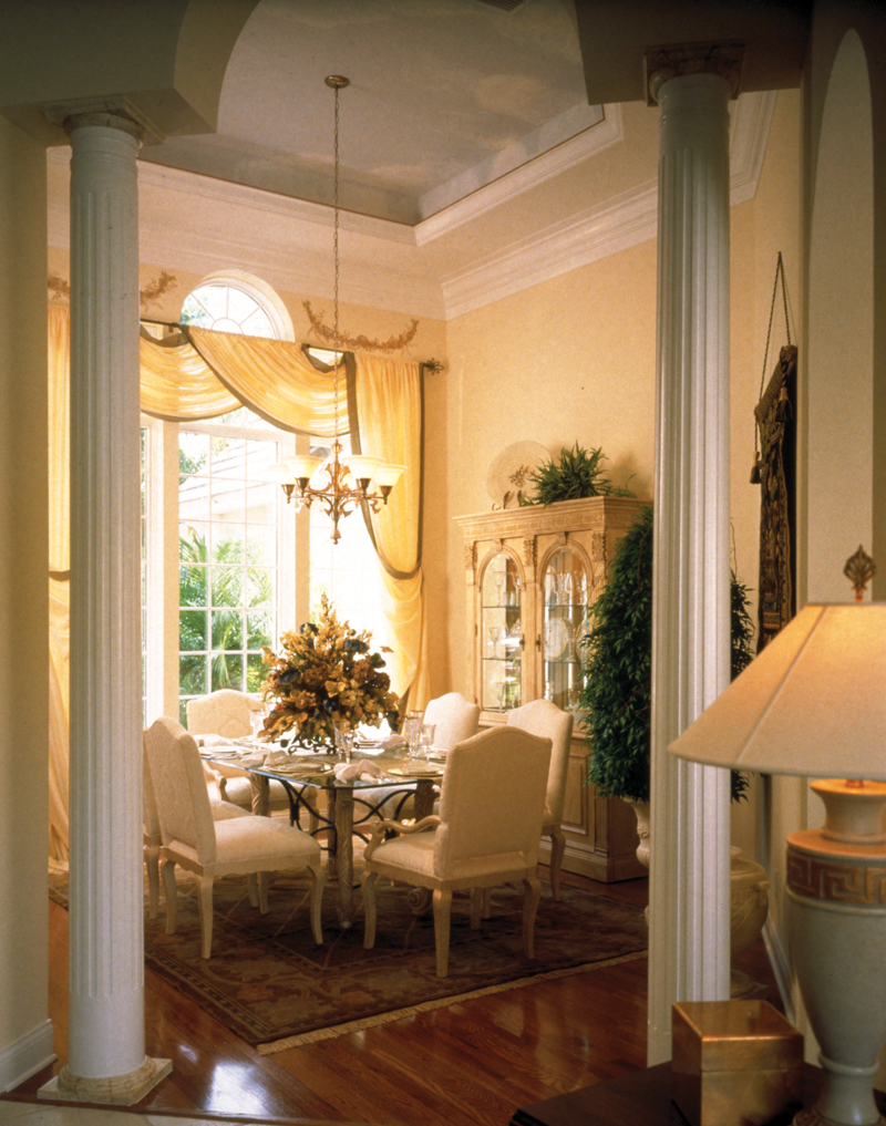 Ranch House Plan Dining Room Photo 01 047D-0214