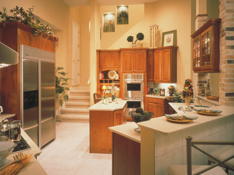 Ranch House Plan Kitchen Photo 01 047D-0214