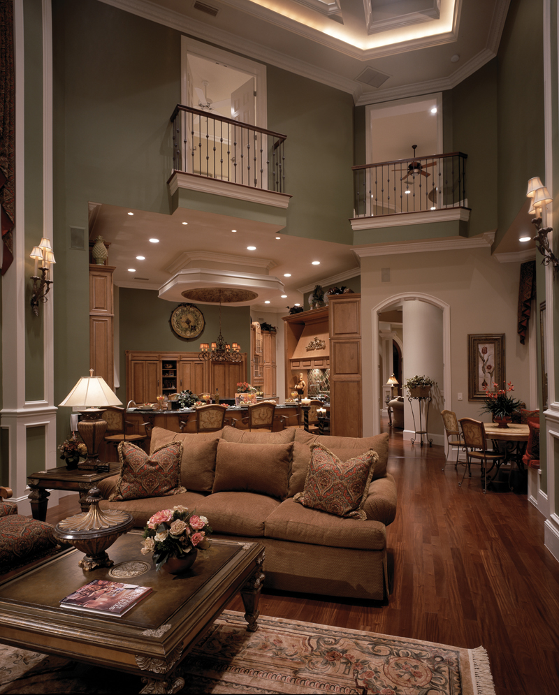 Traditional House Plan Family Room Photo 02 047D-0215