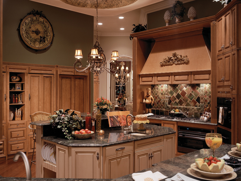 Traditional House Plan Kitchen Photo 01 - 047D-0215 | House Plans and More