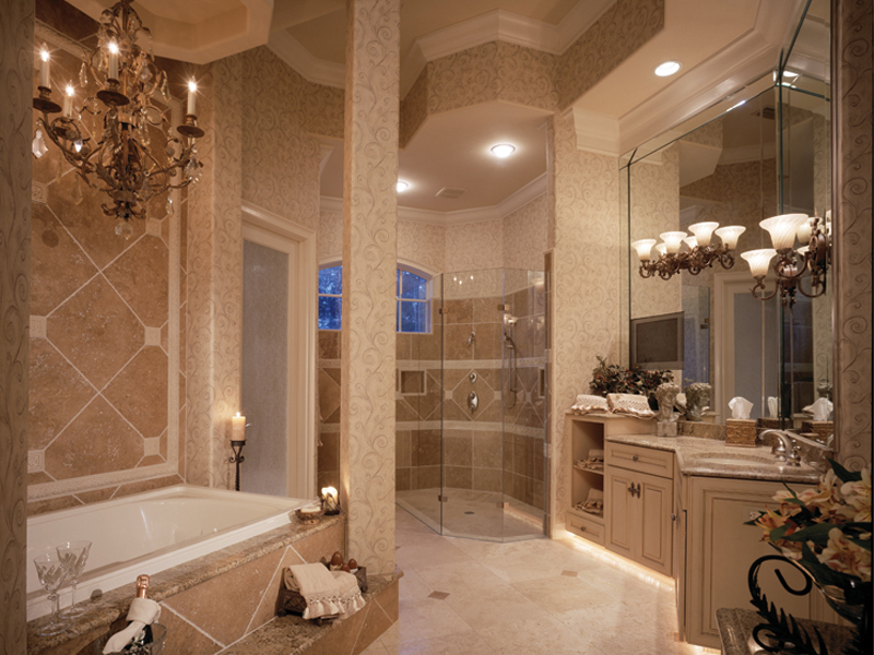 Traditional House Plan Master Bathroom Photo 01 047D-0215