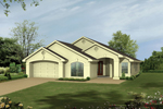 Simple And Sleek Stucco Ranch House Is A Great Sunbelt Design