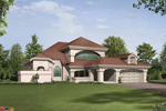 Ranch House Plan Front Image - 048D-0004 | House Plans and More