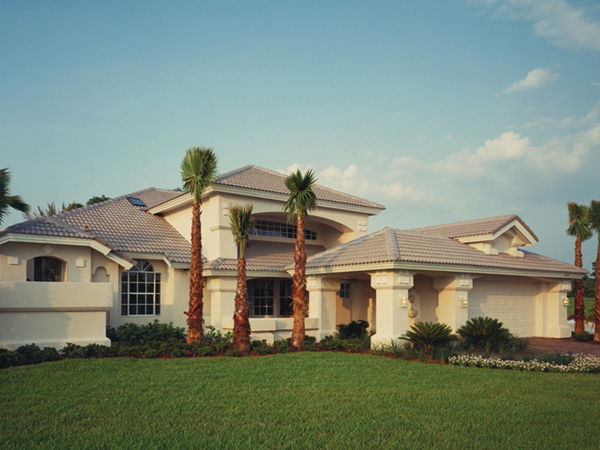 Luxury house plans florida house plans home designs for Luxury mediterranean home plans