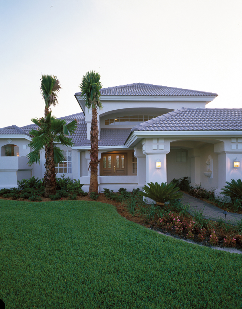 Florida House Plan Front Photo 02 - 048D-0004 | House Plans and More