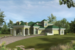 Luxury Stucco Home With Grand Porte-Cochere