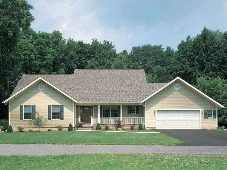 Collier Hill OneStory Home Plan 049D0003 – Traditional House Plans One Story